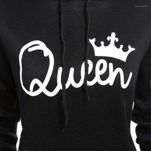 Mode Automne Printemps Sweats Couples Roi Reine Sweats à capuche femme Vêtements homme Pulls