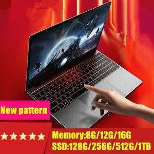 I7 CPU16G RAM, 1TB 5백12기가바이트 256기가바이트 128기가바이트 64기가바이트 SSD의 ROM 노트북 컴퓨터 백라이트 키보드 Win10 매우 저렴한 도매 15.6 인치 게이밍 노트북