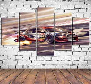 Mitsubishi Dtm 1-2,5 Pieces HD Canvas Printing New Home Decoration Art Painting  Unframed   Framed