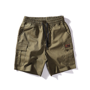 Été New Style Pantalons Hommes Pantalons Pantalons simple de mode de haute qualité short tendance Hip Hop été