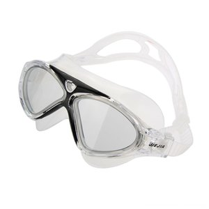 Comfy Frame Water Sports Big Lens Antifog Goggle Glasses ClearBlack Comfy Frame Swimming Water Sports Big Lens Antifog Swimming Goggle Glass