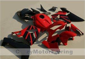Nouveau ABS Moulage Par Injection moto Carénages Kits 100% Fit Pour Honda CBR600RR F5 05 06 2005 2006 carrosserie carénage ensemble personnalisé cool rouge noir