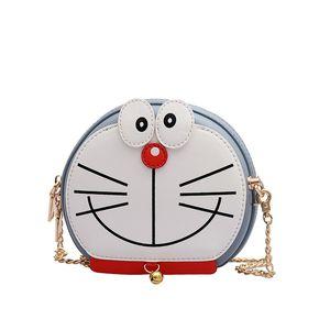 Cartoon Baggu Women Fashion Multifunction Chain Animal Bag Lovely Personality Designer Funny Patchwork Color Messenger Bags Shoulder Ba Jhgb