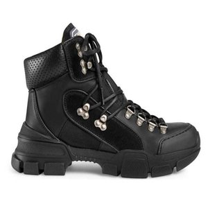 FlashTrek alta-top Shoes Womens Chunky Unisex Mens Casual tornozelo Sapatinho Caminhadas Militar Bota Martin Botas Anti Skid Sneaker UU8