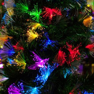 10M 100 Led String Light Christmas Decoration Dandelion Optic Fiber Fairy String Lamp Romantic Atmosphere Party Wedding Festival Y200603
