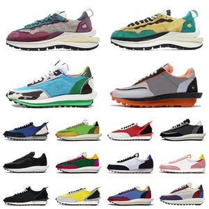 Nike Sacai LDV Waffle Undercover Daybreak Pegasus Blazer Shoes 2020 Chaussures de course pour hommes Chunky Dunky NYC Pigeon Pure Platinum Neptune Green Femmes Blazer Chaussures