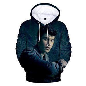 Shawn Mendes 3D Print Hoodies Fashion Designer Spring Autumn Sweatshirts Loose Sleeve Couple Clothing Crew Neck Pullover Casual Apparel