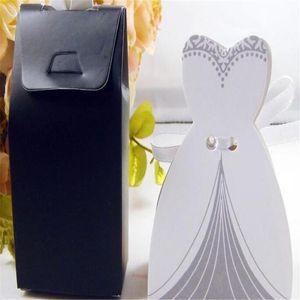 Wedding Decoration Cartoon Cute100pcs lot Candy Boxes Creative Bridegroom& Bride Type New Year Wedding Invitations Free Shipping