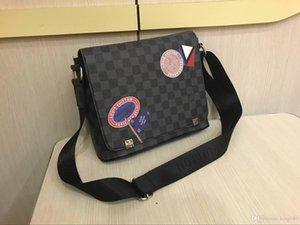 moda Erkekler En Pu Deri Marka Satchel kadınlar Çanta Evrak Laptop Omuz Çantası Çantası crossbody okul çantaları