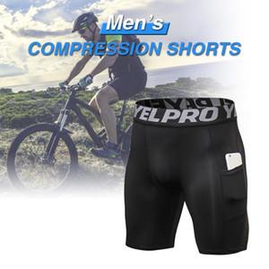 Fitness Equipment Marchepied Shorts Sous-vêtements d'entraînement de poche évacuant l'humidité Respirant élastique Baudrier pour le cyclisme Formation