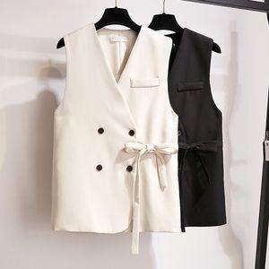 Il nuovo arrivo giacca sportiva sottile della maglia della maglia delle donne signore Tatical Blazer V collare Gilet Colete femminile