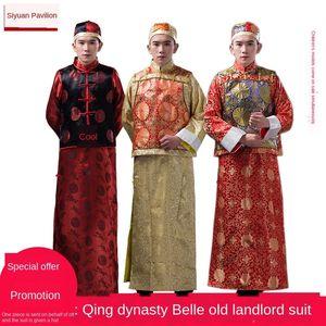 2015 long bridegroo 2015 long bridegroom Baylor Xiuhe m men's Baylor Xiuhe suit red wedding toast suit men's costume