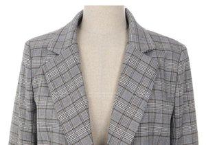Escritório da manta trabalho Lady Blazer Jacket Moda Bow Sashes Dividir luva Femme Blazers elegantes para mulheres com cinto Feminino Suit