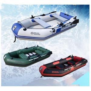 comprimento de 230cm 0.7MM PVC materiais remo insufláveis barco de pesca desgaste laminado resistente inflável