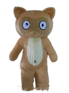 Descuento fábrica de la venta de un asdlut traje de la mascota marrón topo para el adulto a un desgaste