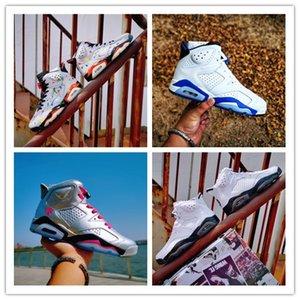 Jumpman 3M 6s sapatos estrela de basquete JSP Reflective Prata Big Kid sapato Mulheres Homens 6 Cactus Sneakers infravermelho esportes ao ar livre atletismo estudante