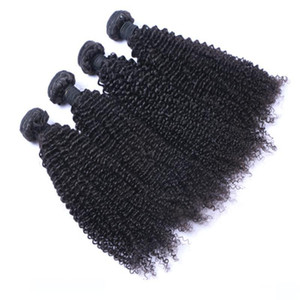 H Лучшее качество бразильские монгольский волос Малазийский Индийский перуанский Kinky завитые выдвижения волос Необработанные Human Virgin Hair Weave Может быть