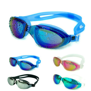 Women Men Adjustable Adult Reusable Anti Fog UV Swim Swimming Glasses Goggles