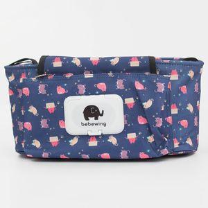 Водонепроницаемые сумки Мумия сумка Прикроватная хранения Портативный Детские коляски Корзина Сумки для новорожденных Коляски Аксессуары для печати Детские коляски сумка VT1656