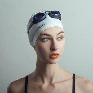 Мода мужчины и женщины плавательных очки гальванического Зеркало очки HD противотуманным Большой кадр водонепроницаемое плавательные очки оборудование