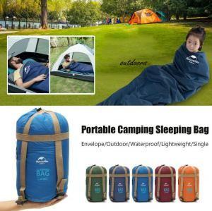 Ultraligero camping Sobre Sleeping Bag 190 * 75cm 5 colores deportes al aire libre que va de excursión hamaca para dormir Pads 5pcs OOA6340