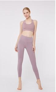 Mulheres Designer Fatos Moda Sólidos terno Cor Sports para Suit Yoga Womens roupas de marca Sports Bra Gym Pants Yoga Hot