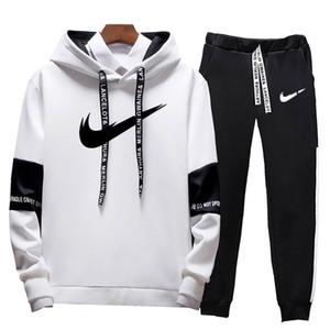 Sıcak satış Marka koşucuların Eşofman Erkekler eşofmanı pantolon Erkek Giyim Sweatshirt Kazak kadınlar Casual Sport Eşofman Eşofman terleme set