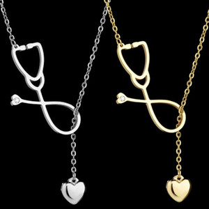 designer jewelry stainless steel necklace love u echometer shape pendant necklace for women hot fashion free of shipping