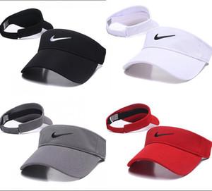 Caldo cappello freddo visiera Sport Fashion vuoti di golf top Cap Esecuzione sunvisor Cappelli esterna traspirante protezione solare Golf Tennis berretti Design