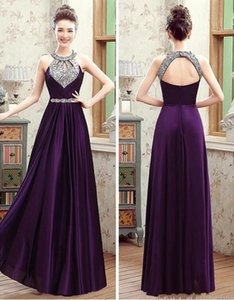 2019 New Long Black Winter Evening Dresses Crystals Beaded Prom Dresses Cheap Lace up Formal Gowns Real Photo Evening Party Dresses Long