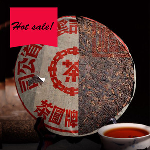 357g Maduro Puer chá Yunnan Tea Marca Fermentado Puer Bolo orgânico Natural Pu'er árvore mais antiga Cozido Puer preto Puerh Verde Food Tea