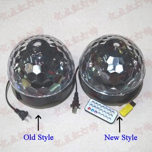 LED Stage Lighting 3W 6W Voice Controlled Crystal Magic Ball MP3 KTV Bars Colorful Lights RBG