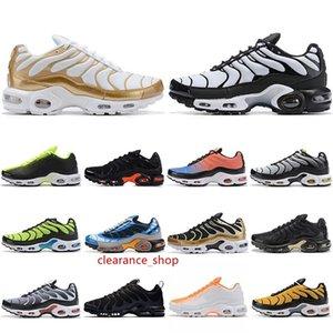 Zapatos y zapatillas de deporte Deportes TN airss Cojín Marca Tns OG SE ultra blanca Negro para hombre de la moda transpirable Formadores EUR 40-46