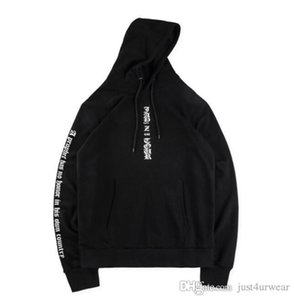 Mens High Street Fashion Designer Hoodies Women Fear Letter Printed Hooded Sweatshirts Long Sleeve Male Loose Hoodies