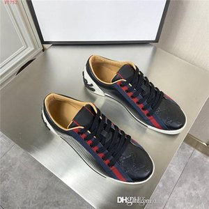 Fashionable mens shoes, Color matching with Striped webbing flat bottom travel, home, sports and leisure shoes With original box