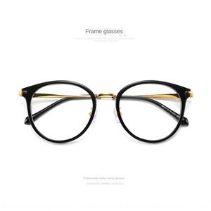 comfortable delicate round glasses full frame large frame glasses 90017