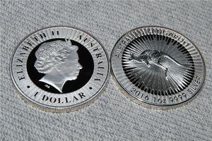 Свободная перевозка груза 20pcs / lot, серебряная монета австралийского кенгуру 1Oz 2016