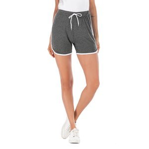 Women wear sports shorts 2019 new summer loose casual pants Europe and the United States slim slimming wild sports shorts