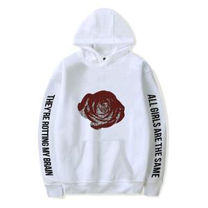 Rip Juice Wrld Men Hooded Sweatshirt Rapper Juicewrld RIP Revenge Hip Hop Hoodie Sweatshirts Women Girls Male Pullover Tops