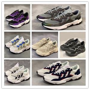 2019 nuevo lujo 3M reflectante Xeno Ozweego entrenador de diseño transpirable para hombres mujeres Speed Calabasas zapatos casuales zapatillas deportivas