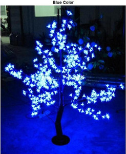 Outdoor-LED-künstliches Kirschblüten-Baum-Licht Weihnachtsbaum Lampe 480pcs LED-Lampen 1,5 m Höhe 110 / 220VAC Regenfest Fee Gartendekoration