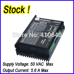 1 pcs Genuine Leadshine DM556 2 Phase 32 Bit DSP Digital Stepper Drive with Max 50 VDC Input Voltage and Max 5.6A Output Current