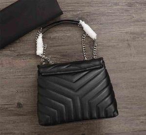 2019Hot Selling Designer Bolso de bandolera para mujer, Bolso de cuero original, Sincronización de sitios web Nuevo Bolso de bandolera pequeño, 24 cm