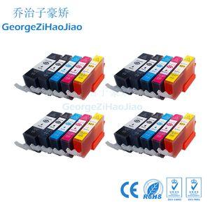 24X520XL CANON 520 PIXMA için Uyumlu PGI520 Mürekkep Kartuşu IP3600 IP4600 IP4700 MP550 MP540 MP560 MX870