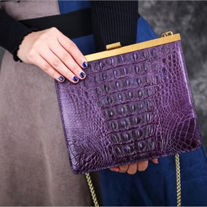 Amazing2019 Woman Crocodile The Back Bone Hand Take Single Span Span Package Lady Of Quality Luxury Goods Donner