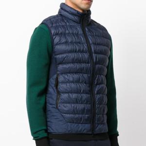 Europen abajo concede ABAJO GILET cálido y confortable Pareja engrosamiento ganso chaquetas para hombre de alta calidad suelta Escudo Diseñador HFWPJK156