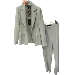 European and American brands with new models suit suit in spring and autumn Korean women two ladies OL Slim casual jacket