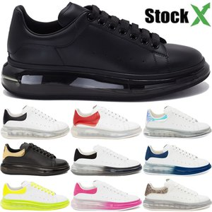 Verdadeira plataforma de veludo couro cristal almofada sapatos Sole estilista volts branco preto triplo vermelho homens mulheres sapatilhas ocasionais US 6-12