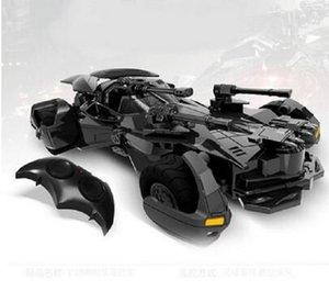2020 Süpermen Justice League elektrikli Batman RC araba çocuk oyuncakları modeli Hediye simülasyon ekran Batmobile RC araba 1:18 v New 01:18 Batman