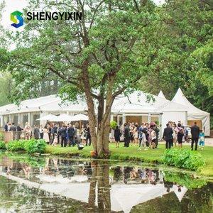 Longo anodizado Trade Show Perfil de alumínio para Tent alumínio tamanho personalizado durável grande tenda de ferro para feira de exposições ou eventos de casamento